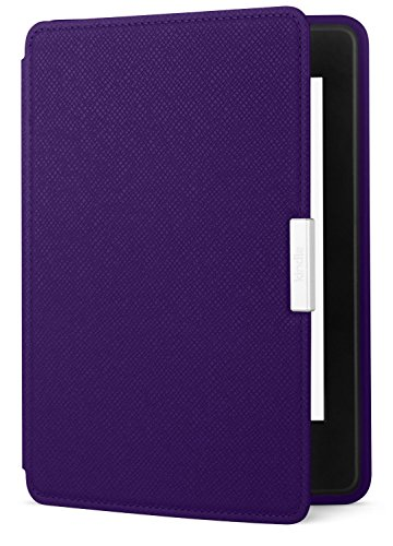 : Amazon Kindle Paperwhite Leather Case, Royal Purple - fits all Paperwhite generations