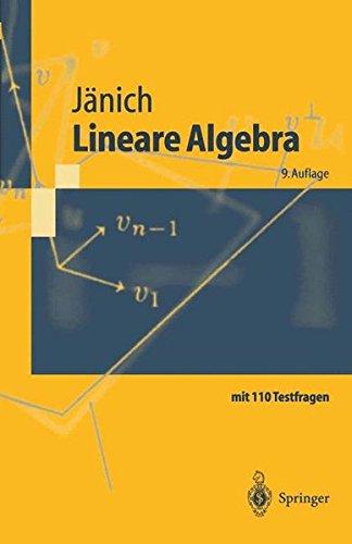 Springer-Lehrbuch: Lineare Algebra
