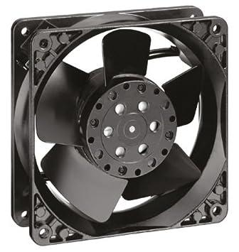 Papst 4656 N Carcasa del ordenador Ventilador - Ventilador de PC (Carcasa del ordenador, Ventilador, 12 cm, 2650 RPM, 160 m³/h, 1 Ventilador(es))