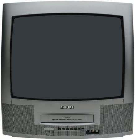 Philips 20 PV 230 50,8 cm (20 Pulgadas) 4: 3 televisor con Mono de vídeo VHS Granito: Amazon.es: Electrónica