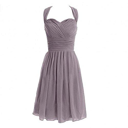 KA Beauty - Vestido - para mujer gris