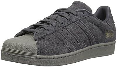 adidas Originals Men's Superstar Shoe, Grey Five Utility Black, 5 Medium US