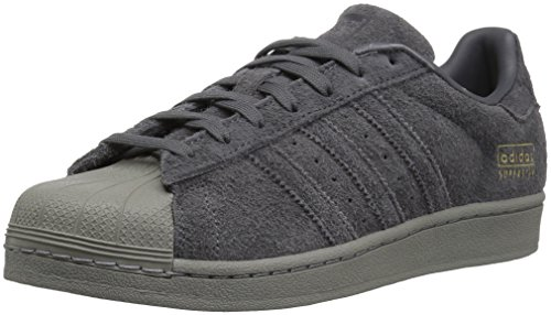 adidas Originals Men's Superstar Running Shoe, Grey Five Uti