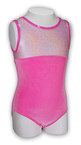 Pelle Gymnastics Leotard - Princess/Pink Velvet (Other Prints Available) - - Cxs Leotard