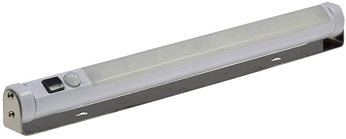 Awesome LED Unterbauleuchte Mit Bewegungsmelder Batterie 3xAA Mignon 80 Lumen Weiß  (Weiß)