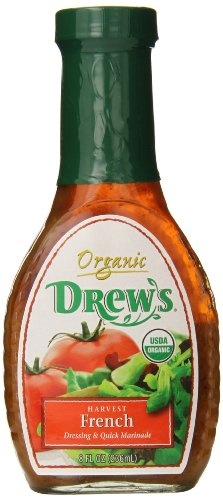Drew's All Natural Organic Salad Dressing, Harvest French, 8 Ounce (Drews Italian Dressing compare prices)