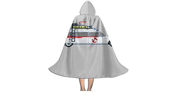OJIPASD Ecto - Capa con Capucha para Disfraz de Cazafantasmas de 1 ...