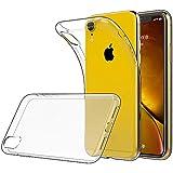 Simpeak Funda para iPhone XR (6,1 Pulgadas), Fundas Transparente Apple iPhone XR Carcasa iPhone XR Funda Silicona TPU Case