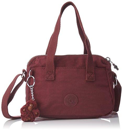T para H B x Crimson cm Mujer Leike 5 Bolso 19 Rojo 5x14x9 Kipling x Bandolera waq1tOxWA