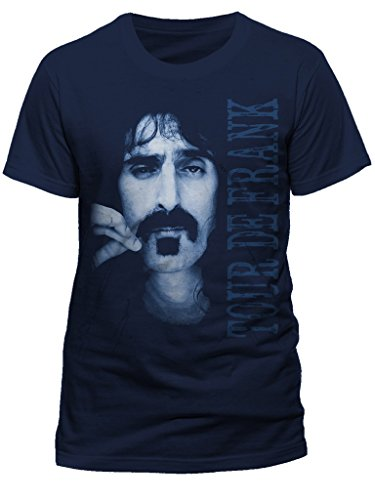 AWDIP Men's Official Frank Zappa Tour De Frank T-Shirt Musician Band Film Director