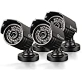 Swann SWPRO-735CAM-US PRO-735 Multi-Purpose Day/Night Security Camera Night Vision 85-Feet/25-Meter (3-Pack)