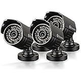Swann SWPRO-735CAM-US PRO-735 Multi-Purpose Day/Night Security Camera Night Vision 85-Feet/25-Meter (3-Pack)