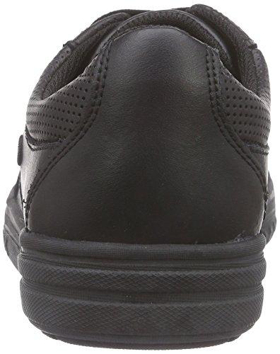 ClarksChad Rail Jnr - Zapatillas Niños Negro (Black Leather)