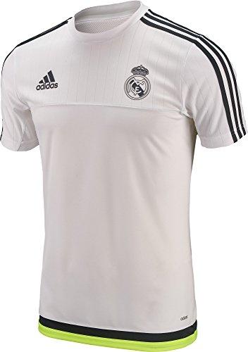 - adidas Real Madrid Training Jersey 2016 Youth. (Large) White