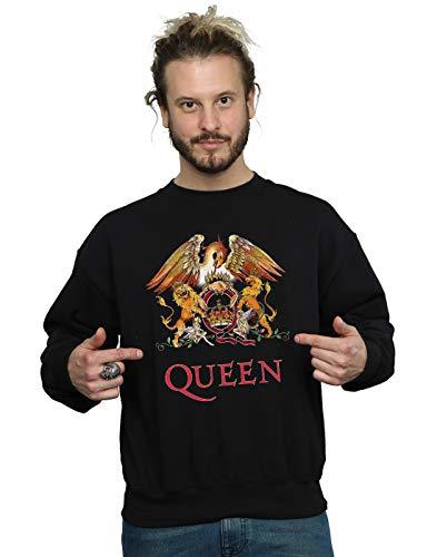 shirt Logo Crest Homme Noir Cult Queen Sweat Absolute wA8qYx