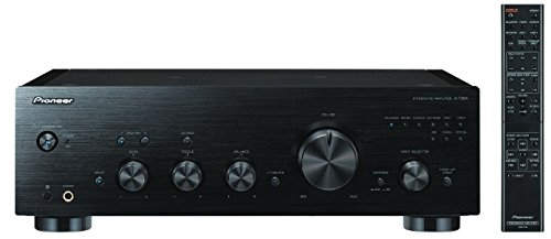 Pioneer A-70DA Pure Audio - Amplificador/convertidor de audio alámbrico de alta fidelidad para hogar con 2 x 90 W, 2 x 65 W, entradas Phono y USB, Clase D, ...