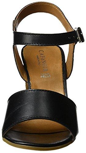 Cafènoir Mxl162 Sandalo Col Tacco Donna Nero