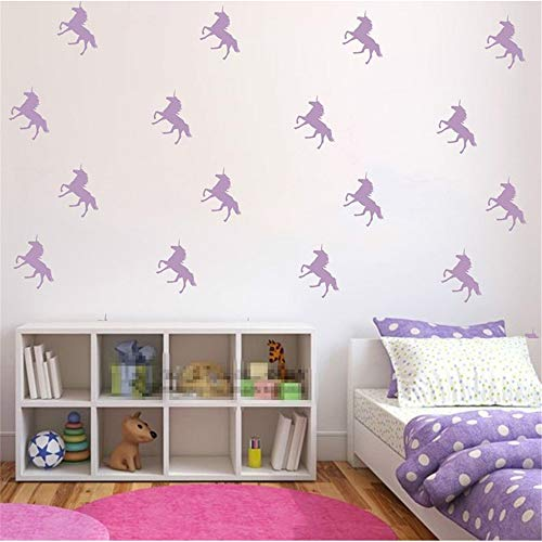 NA Quote Mirror Decal Quotes Vinyl Wall Decals 32Pcs/Lot Custom Color Unicorn -