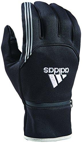 adidas AWP Voyager Gloves, Black Silver, Medium-Large