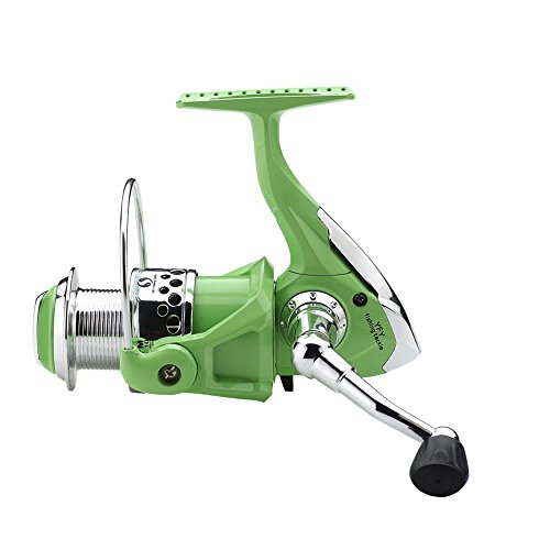 FYSHFLYER Lite Green High Speed Spinning Reel; Plastic Frame/ Light Weight Professional Spinning (Professional Spinning Reel)