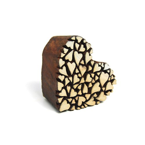 UPC 879426004615, OOLY Blockwallah Wooden Stamp, Heart of Hearts