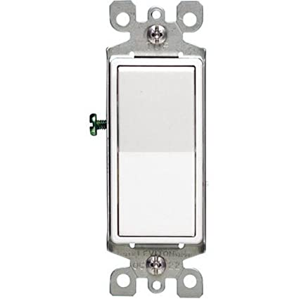 Leviton 107-5603-2WS 3-WAY Switch White - Wall Light Switches ... on two-way switch diagram, leviton double switch wiring, leviton 4 way switch diagram, leviton dimmer switch installation, four-way switch diagram, leviton 3-way rocker switch diagram, leviton light switch diagram, leviton combination switch wiring, 3 pole switch diagram, leviton switches installation diagram, leviton 4-way lighted switch, leviton 3-way switch back, leviton 3-way switch installation, leviton electrical switch wiring, leviton 3-way switch terminal colors, decora 3 way switch diagram, leviton 3 switch wiring, easy 3 way switch diagram, leviton illuminated light switch, leviton 5603 installation diagram,