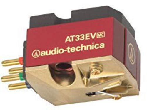- Audio-Technica AT33EV Elliptical Nude Dual Moving Coil Turntable Cartridge