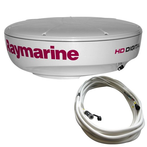 Raymarine RD418HD 4kW Digital Radome with 10M Raynet Cable, 18-Inch