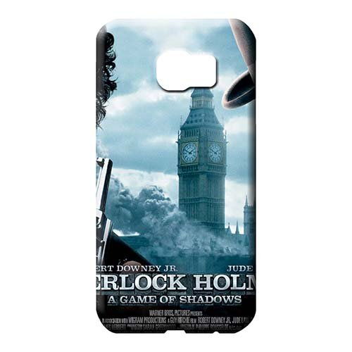 Pretty Phone CasesCovers Shock Absorbing Phone back Shells Sherlock Holmes A Game of Shadows Awesome Samsung Galaxy S7
