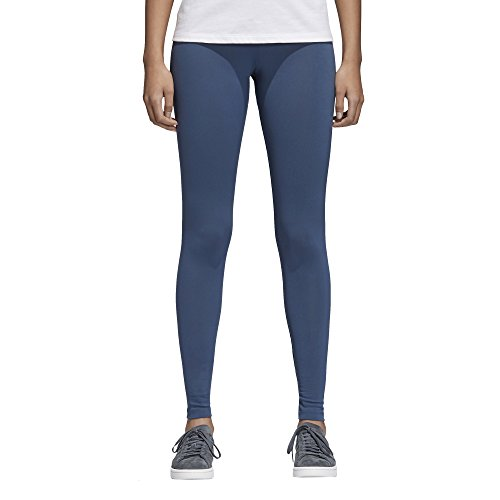 adidas Originals Women's Trefoil Leggings, Mineral Blue/Mini Logo, S