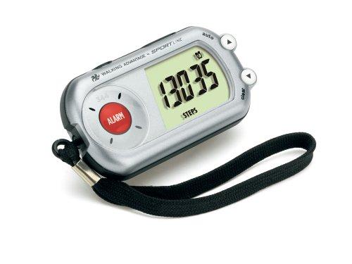 Sportline Walking Advantage 344 Safety Alarm Pedometer (Walking Advantage Sportline Pedometer)