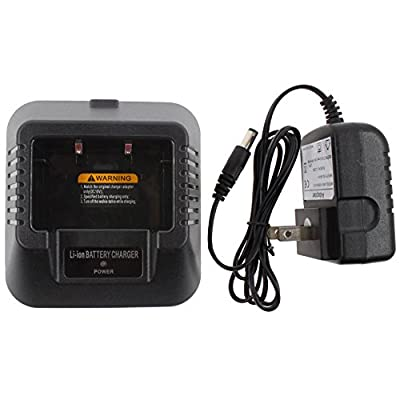 Tenq Desktop Charger (Us Type) Fit for Baofeng Uv-5r 5ra 5rb 5rc 5rd 5re 5replus from TENQ