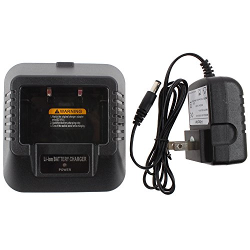 Tenq Desktop Charger (Us Type) Fit for Baofeng Uv-5r 5ra 5rb 5rc 5rd 5re 5replus