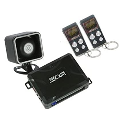 Amazon.com: Absoluta una forma coche sistema de alarma ...