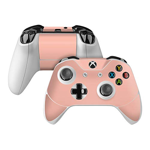 Solid State Peach Skin Decal Compatible with Microsoft Xbox One and One S Controller - Full Cover Wrap for Extra Grip and Protection from DecalGirl