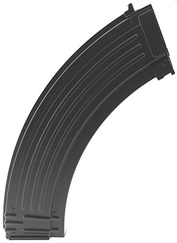 SportPro CYMA 800 Round Metal RPK High Capacity Magazine for AEG AK47 AK74 Airsoft - Black ()