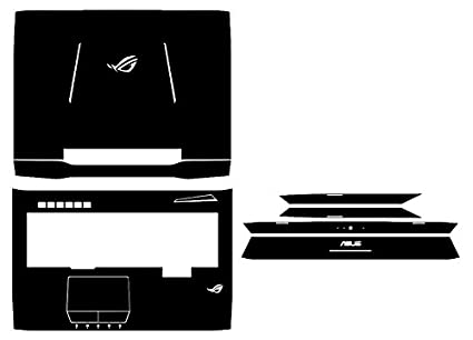 2fa3581f39f6 Amazon.com : Special Laptop Black Brushed Vinyl Skin Stickers Cover ...
