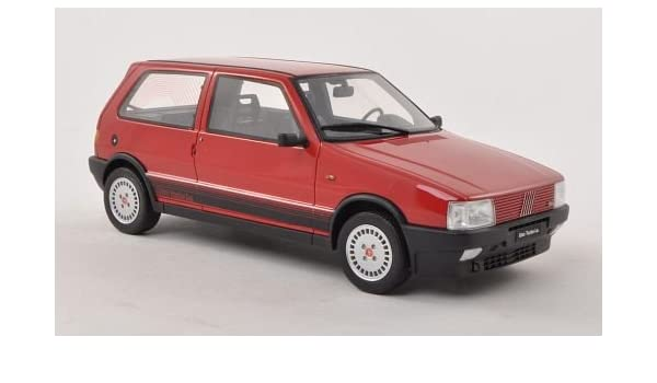 Amazon.com: Fiat Uno Turbo i.e., rot , 1987, Modellauto, Fertigmodell, Laudoracing-Models 1:18: Toys & Games
