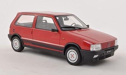 Fiat Uno Turbo i.e., rot , 1987, Modellauto, Fertigmodell, Laudoracing-Models