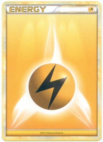 Lightning Energy Pokemon Card (Heart-Gold & Soul-Silver Series) Yellow/Electric Type (Best Pokemon In Pokemon Soul Silver)