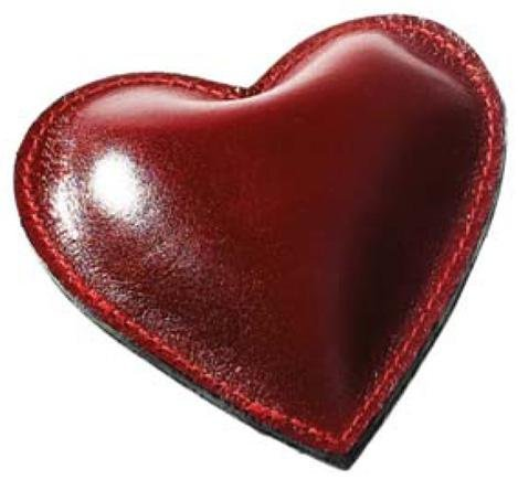 - Raika RM 160 RED Heart Paperweight - Red