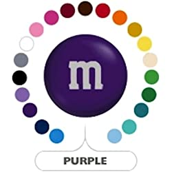M&M's Purple Milk Chocolate Candy 1LB Bag