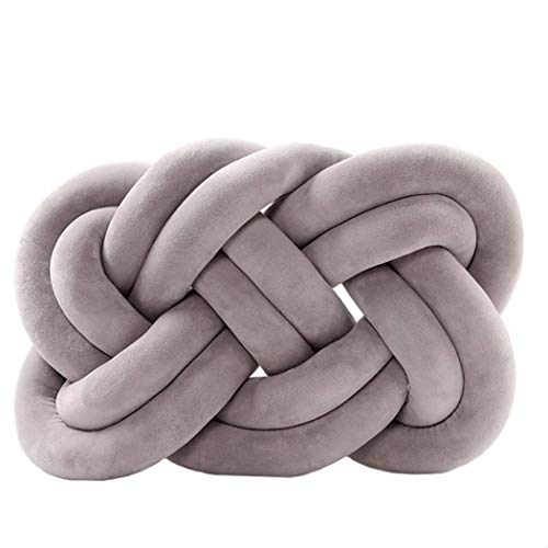 Handmade Pillow Woven Soft Seat Knotted Cushion Solid 3D Tie Bedroom Decoration Pillows Baby Sleep Cusion