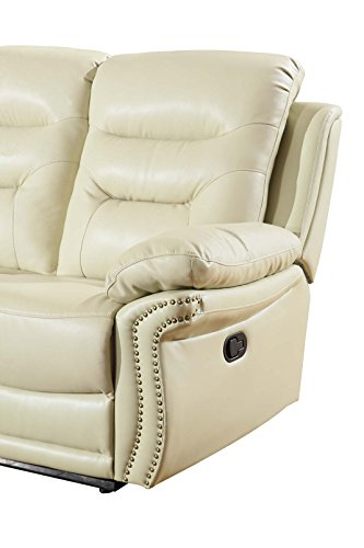 Blackjack Furniture 9392-BEIGE-S The Andrews Collection Recl