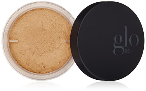 Glo Skin Beauty Loose Base - Honey Light | Illuminating Loose Mineral Makeup Powder Foundation | Dewy Finish | 9 Shades