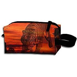 Sunset Portable Travel Dopp Kit Bag Make Up Pouch For Men & Women