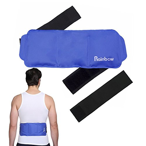 Pain Relief Ice Gel Pack Wrap for Hot Cold Compress - Reusab