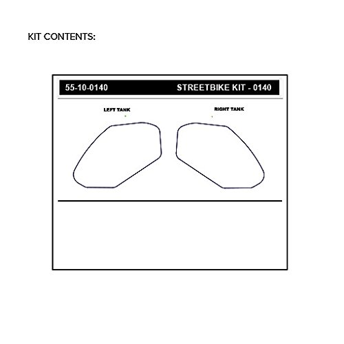 17-19 KAWASAKI EX650F CLEAR STOMPGRIP Traction Pads