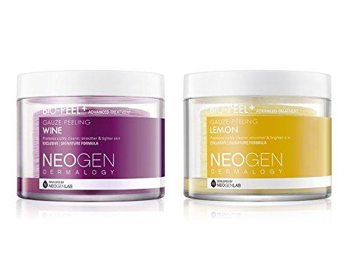 Neogen-Bio-Peel-Gauze-Peeling-Wine-and-Lemon-60-Count-400-Milliliter