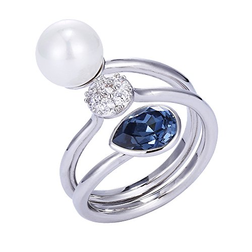 China From Rings Costume (Xuping Lover Thanksgiving Intimacy Round Crystals from Swarovski Rings Women Jewelry)